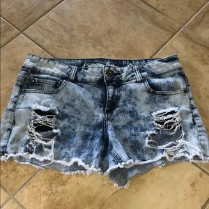 Celebrity Pink juniors jean shorts